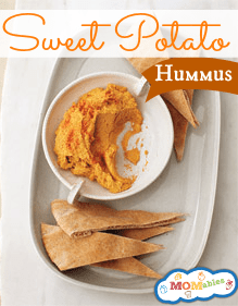 Sweet Potato Hummus - MOMables.com