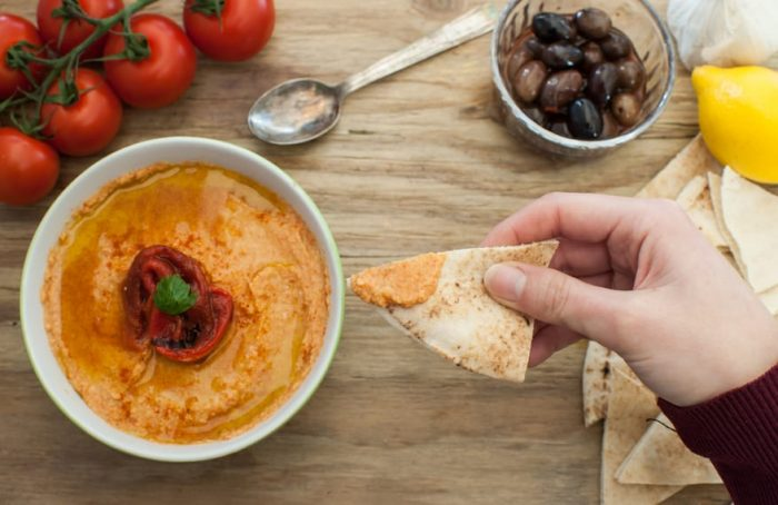Super Easy Sweet Potato Hummus recipe. It's perfect for dips, sandwiches, and  a great way to use leftover sweet potatoes!