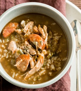 Southern Gumbo with Holiday Leftovers