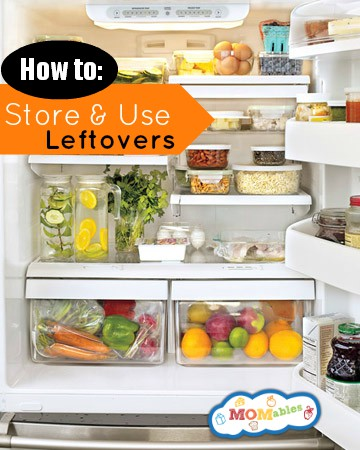 How to store and use leftovers