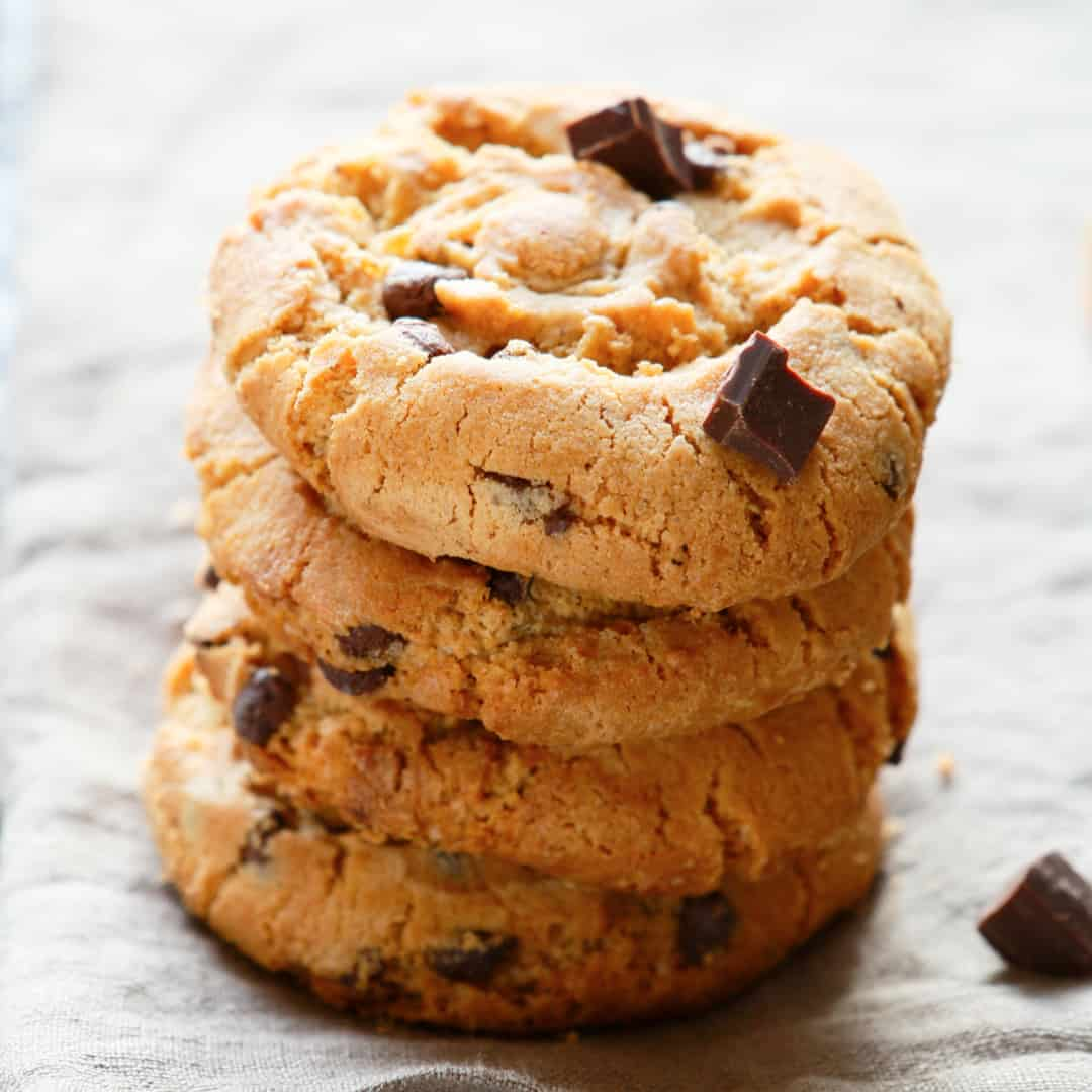 Chewy Whole Wheat Chocolate Chip Cookies Momables