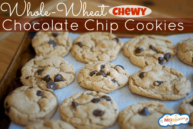 whole wheat chocolate chip cookies - yes please!
