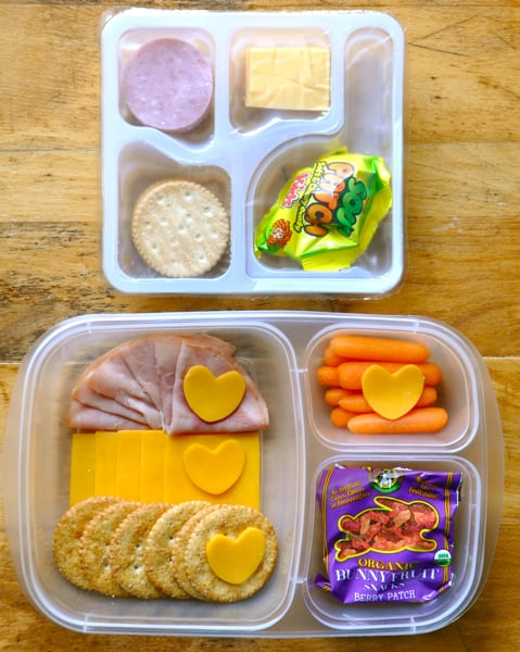Lunchablesremake 1 momables good food plan on it for Easy diy lunches