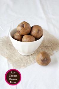 Raw Cookie Dough Bites MOMables.com