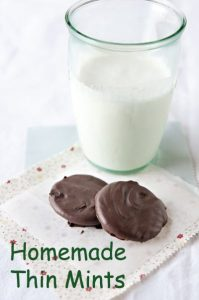 homemade thin mints MOMables.com