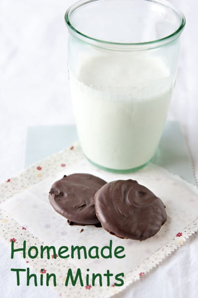 Homemade Thin Mint Cookies - MOMables® - Good Food. Plan ...