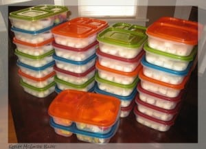 Lunch Packing for 2, 4, or 28. Here's How!