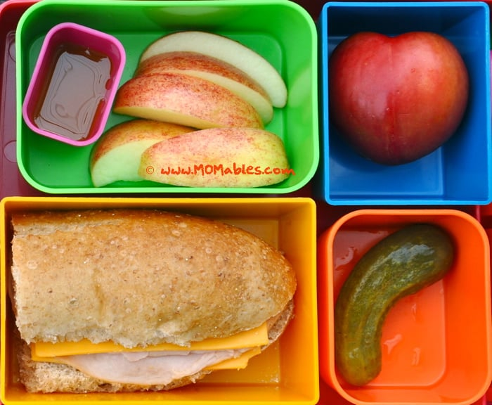 homemade and healthier version of lunchables with sub sandwich