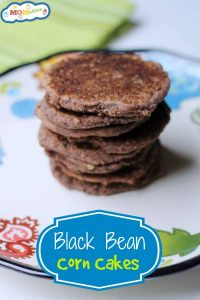 black bean corn cakes