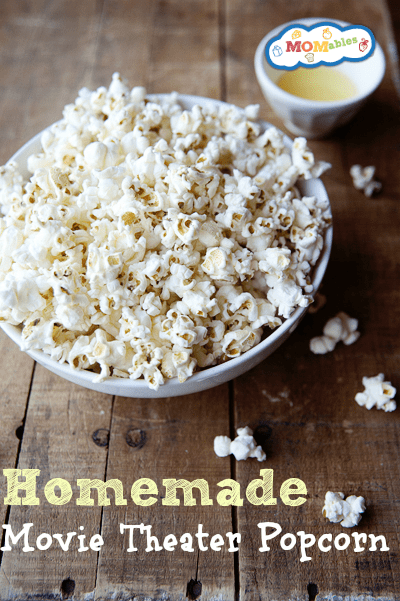 homemade movie theater popcorn