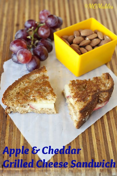 Apple and Cheddar Grilled Cheese Sandwich