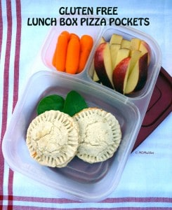 gluten free pizza pockets MOMables.com