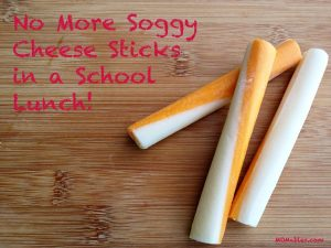 no more soggy cheese sticks MOMables.com
