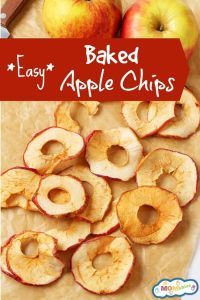Easy Baked Apple Chips
