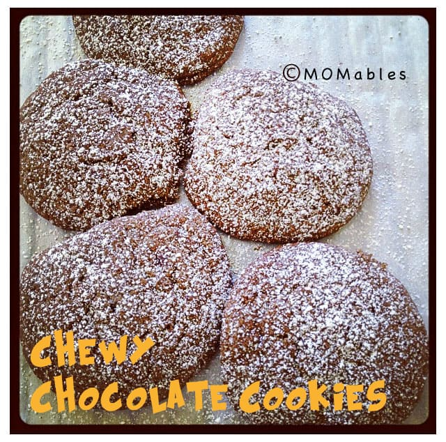 Chewy Chocolate Cookies MOMables.com