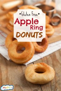 gluten free apple ring donuts