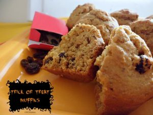 Trick or Treat Muffins MOMables.com