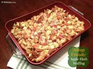 Apple Herb Stuffing Recipe MOMables