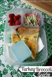 Turkey Broccoli Quiche Recipe