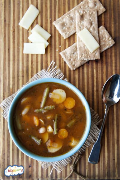 Hearty Vegetable Soup - MOMables.com