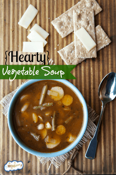Ditch the can: Homemade Hearty Vegetable Soup