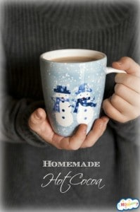 homemade hot cocoa MOMables.com