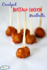 crockpot buffalo chicken meatballs
