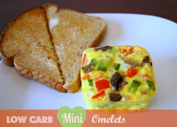 Low carb mini omeletes a perfect breakfast idea for diabetics low carbohydrate mini omelets forumfinder Choice Image