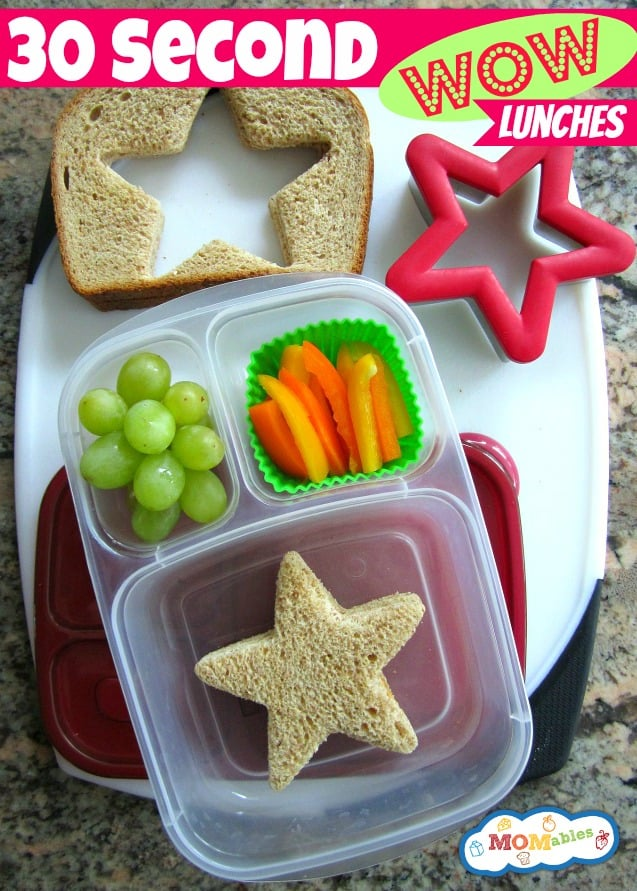 30 Second WOW Lunches