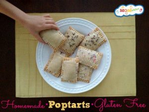Homemade GlutenFree Poptarts via MOMables.com