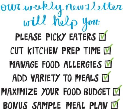 picky eaters, easy recipes, food allergies and allergy friendly recipes, how to add variety to meals, real food on a budget, sample meal plans