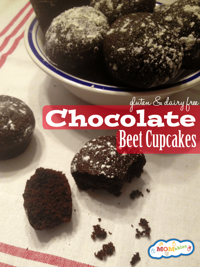 Gluten Free Chocolate Beet Cupcakes - MOMables.com