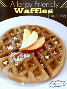 Allergy friendly waffles egg nut gluten free