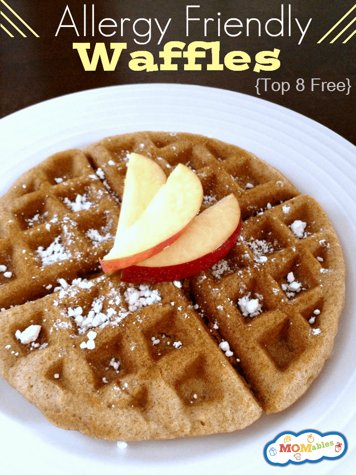 Allergy Friendly Cinnamon Waffles
