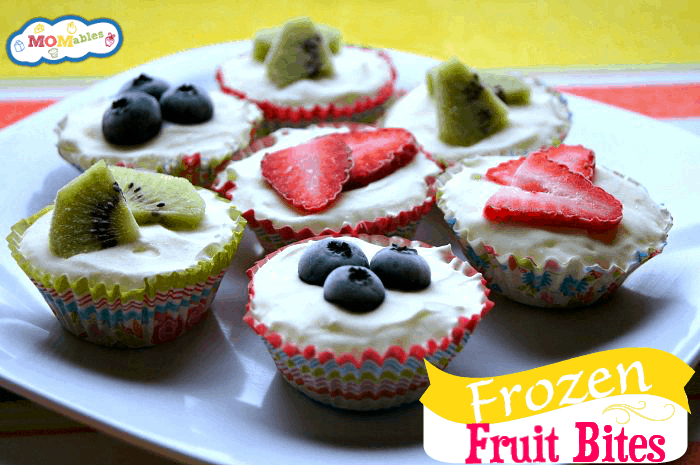 Frozen Mini Cheesecake Fruit Bites - MOMables.com