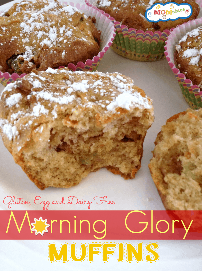 GF DF EF Morning Glory Muffins - MOMables.com