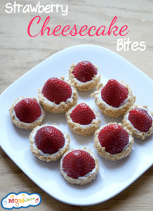 Strawberry-Cheesecake-Bites MOMables.com