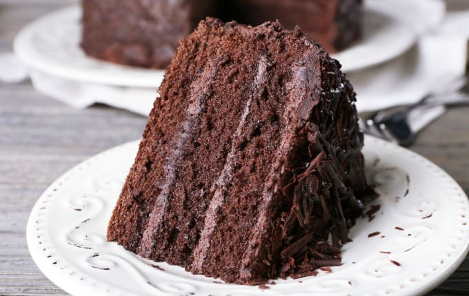 Eggless Chocolate Mud Cake Recipe