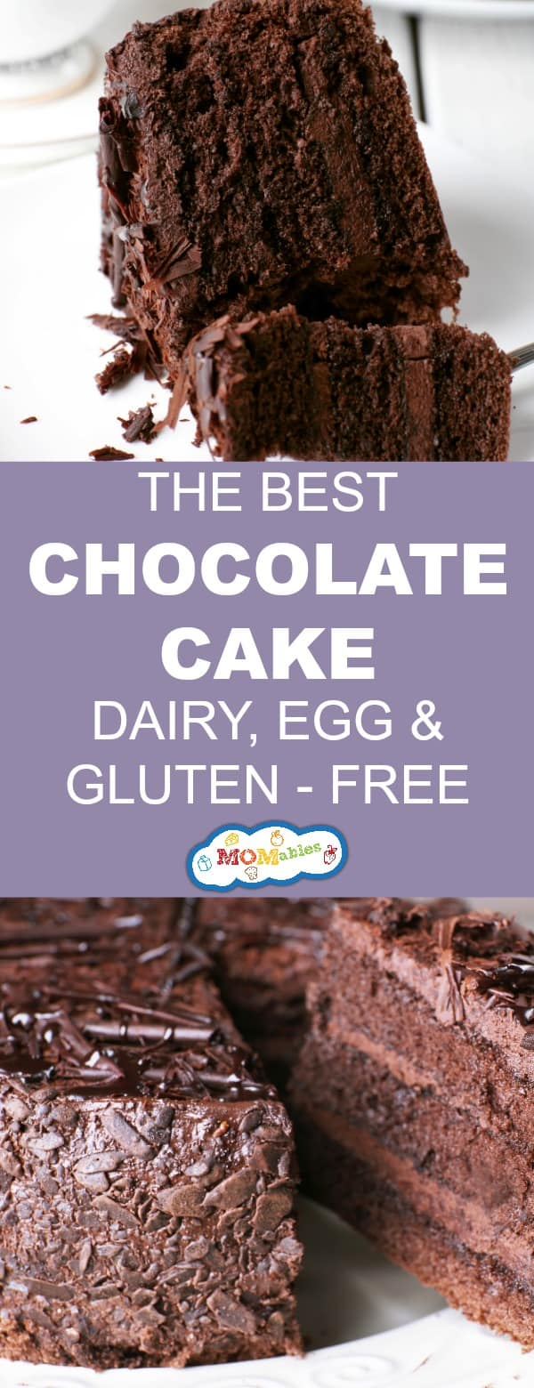 This Gluten Dairy And Egg Free Chocolate Cake Recipe Is Delicious Decadent