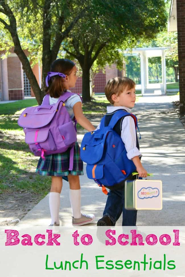 Back to school lunch essentials list via MOMables.com #backtoschool