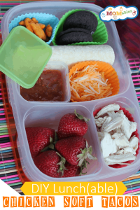 Healthy Lunchable Chicken Soft Tacos Lunch MOMables.com