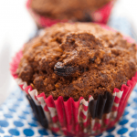 quinoa raisin muffins recipe - gluten free via MOMables.com