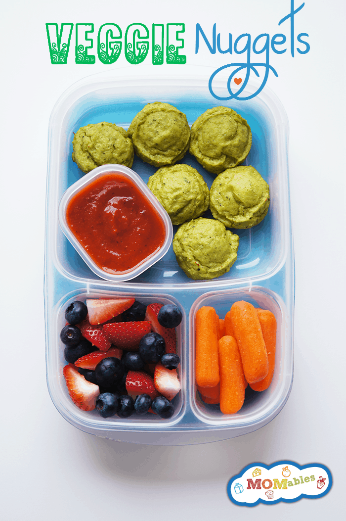 easy veggie nuggets kids will love - who knew broccoli was this much fun!