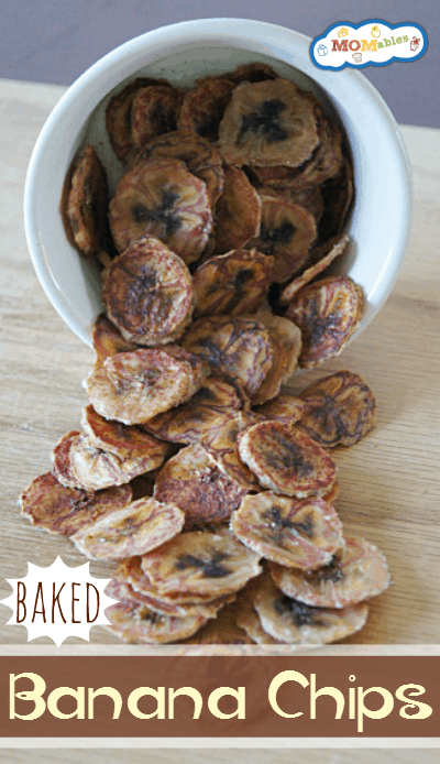 Homemade Baked Banana Chips recipe