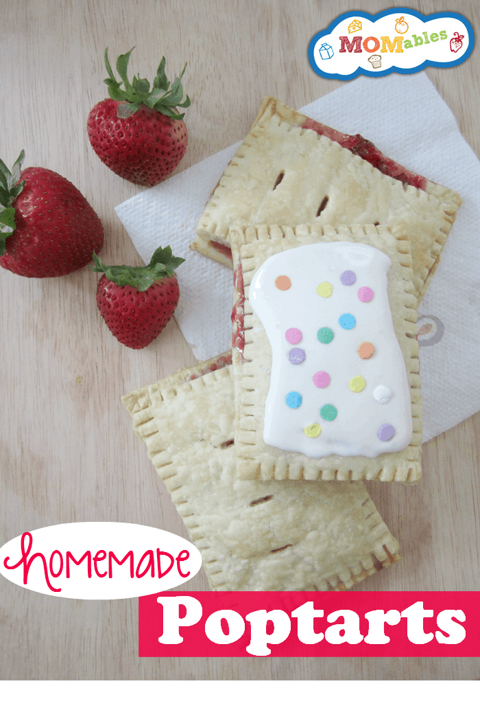 Homemade-Poptarts with real fruit Recipe MOMables.com