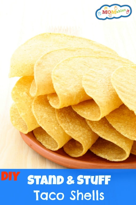 how to make taco shells from corn tortillas