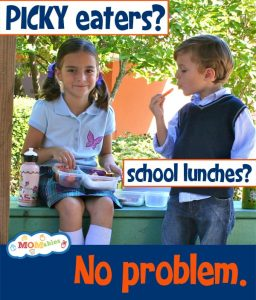 how to pack school lunches when you have picky eaters MOMables.com