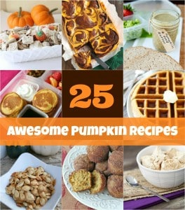 25 Awesome Pumpkin Recipes