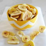 banana chips in a bowl