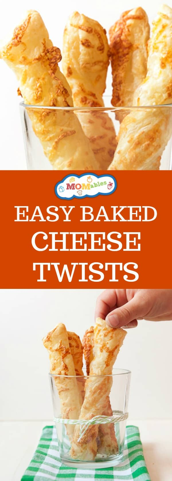 These Easy Baked Cheese Twists are flaky and twisted with cheese then baked to perfection! These are perfect for a school lunch or to eat with your favorite homemade soup recipe.